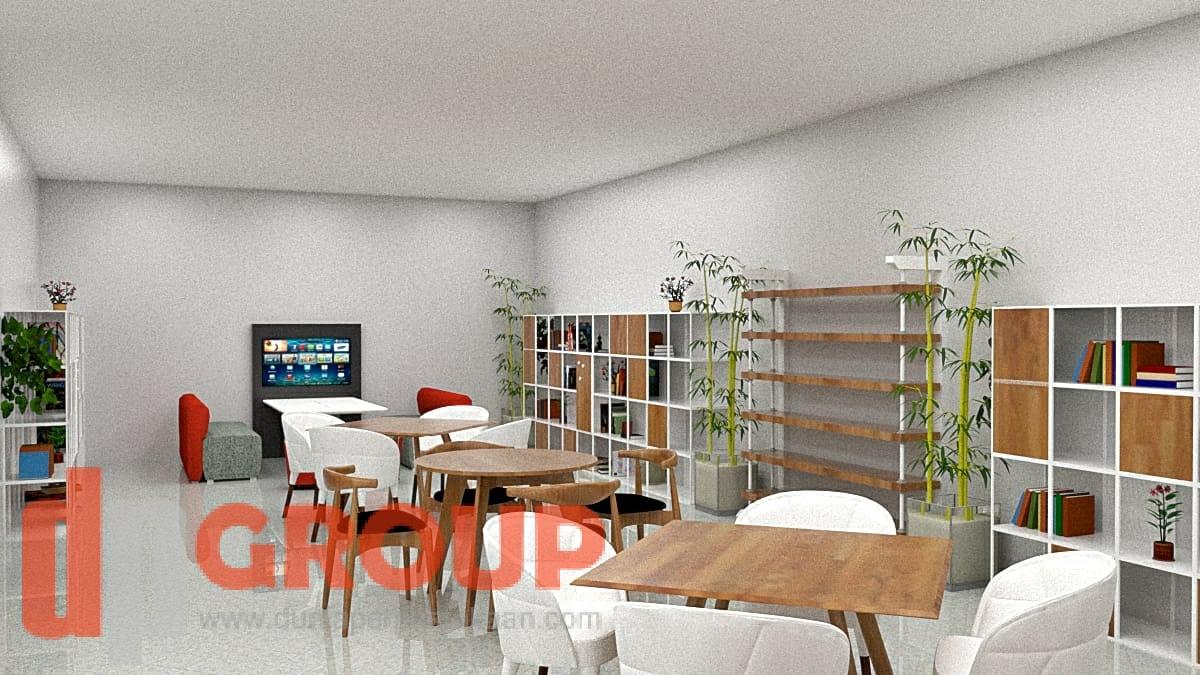 Jasa Desain dan Interior untuk Perpustakaan